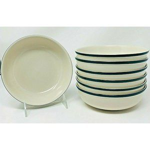Casuals by China Pearl Set of 7 Salad/Cereal Bowls